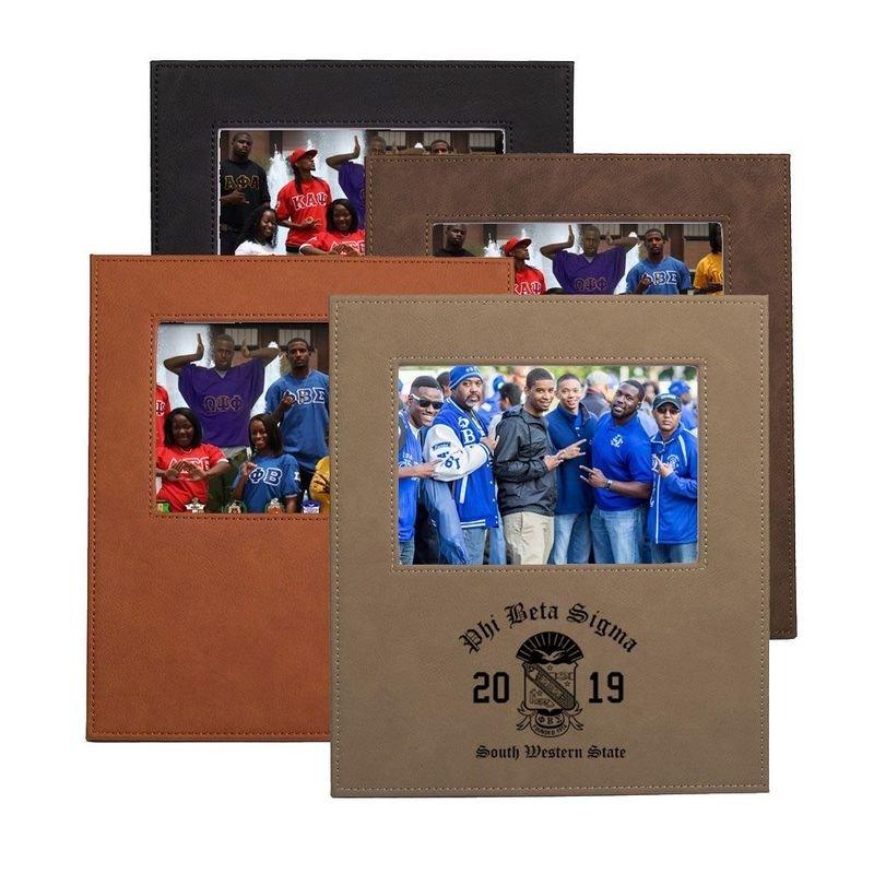 Phi Beta Sigma Saddle Photo Frame