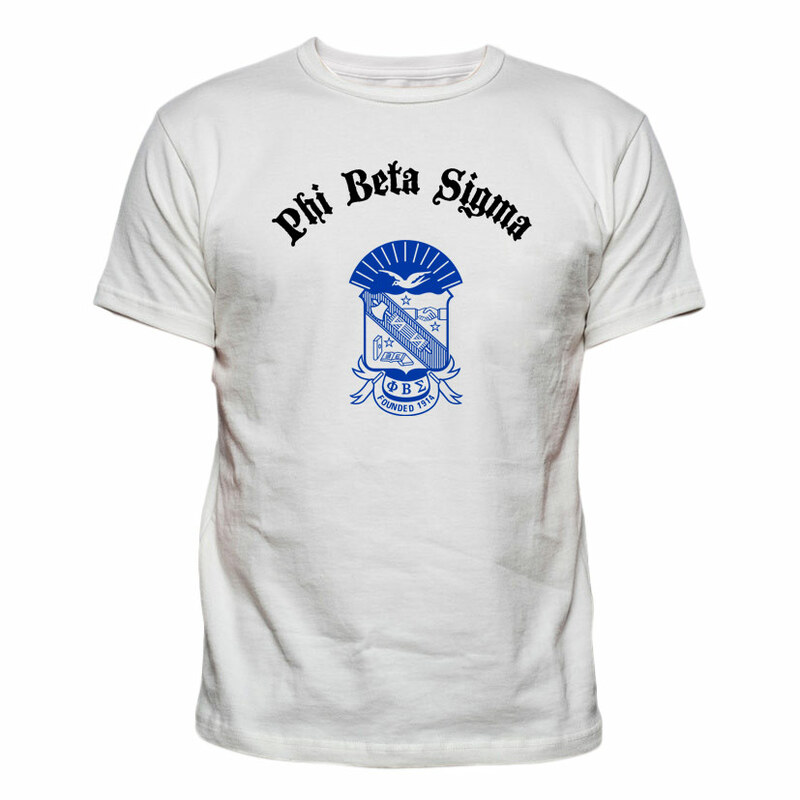 Phi Beta Sigma Vintage Crest - Shield T-shirt
