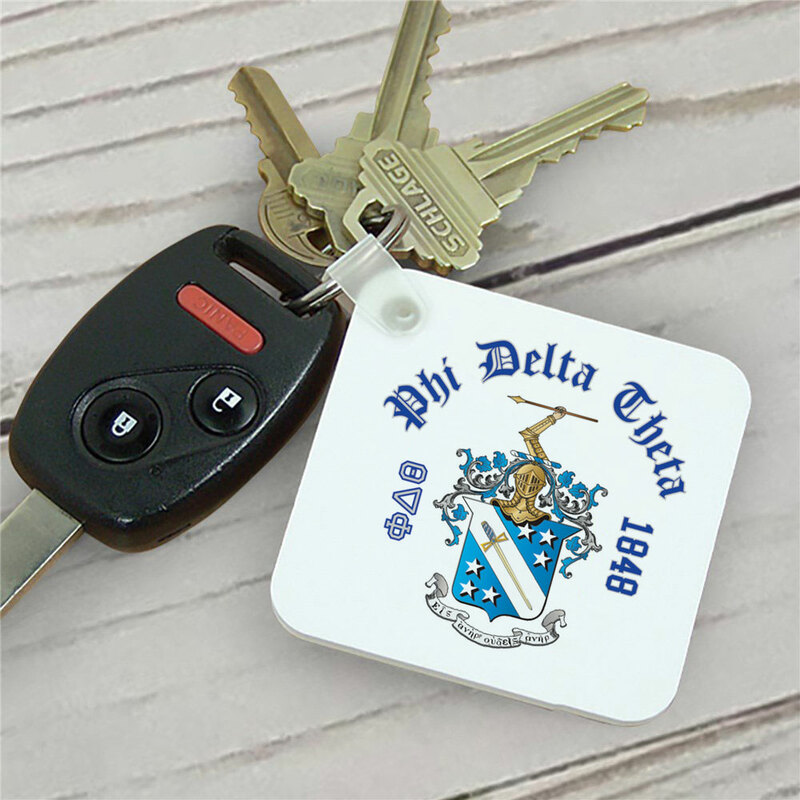 Phi Delta Theta Color Keychains