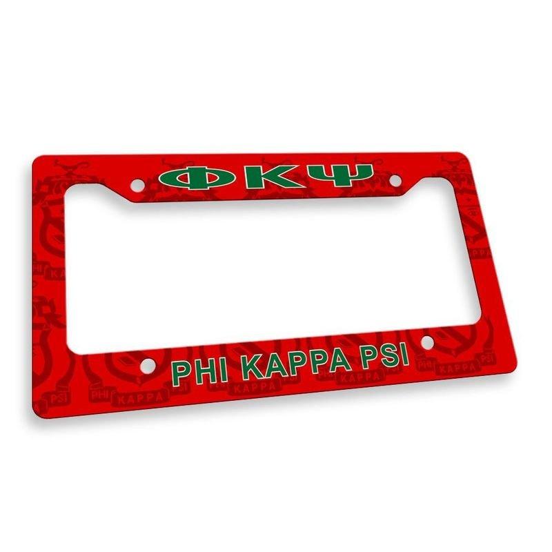Phi Kappa Psi Custom License Plate Frame