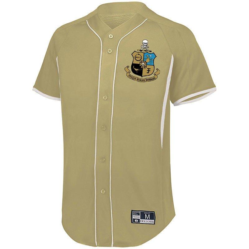 Phi Kappa Sigma Game 7 Full-Button Baseball Jersey
