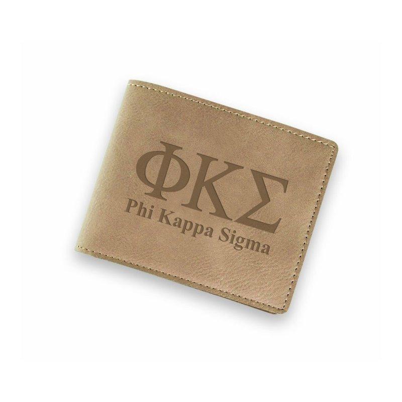 Phi Kappa Sigma Fraternity Wallet