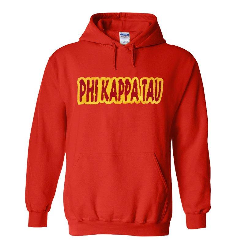 Phi Kappa Tau Super Saver Letttered Name Hoodie