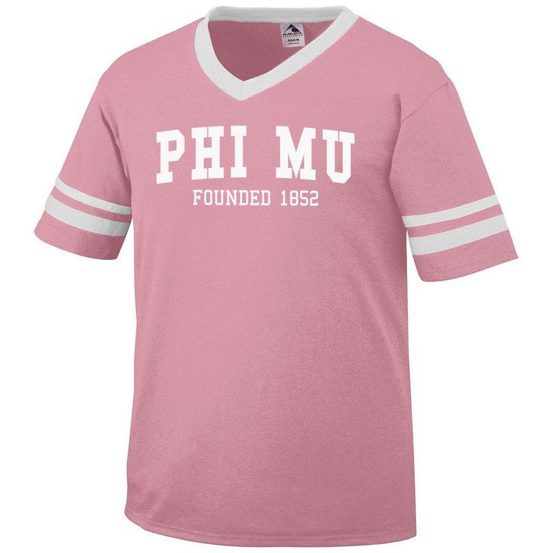 Phi Mu Boyfriend Style Founders Jersey
