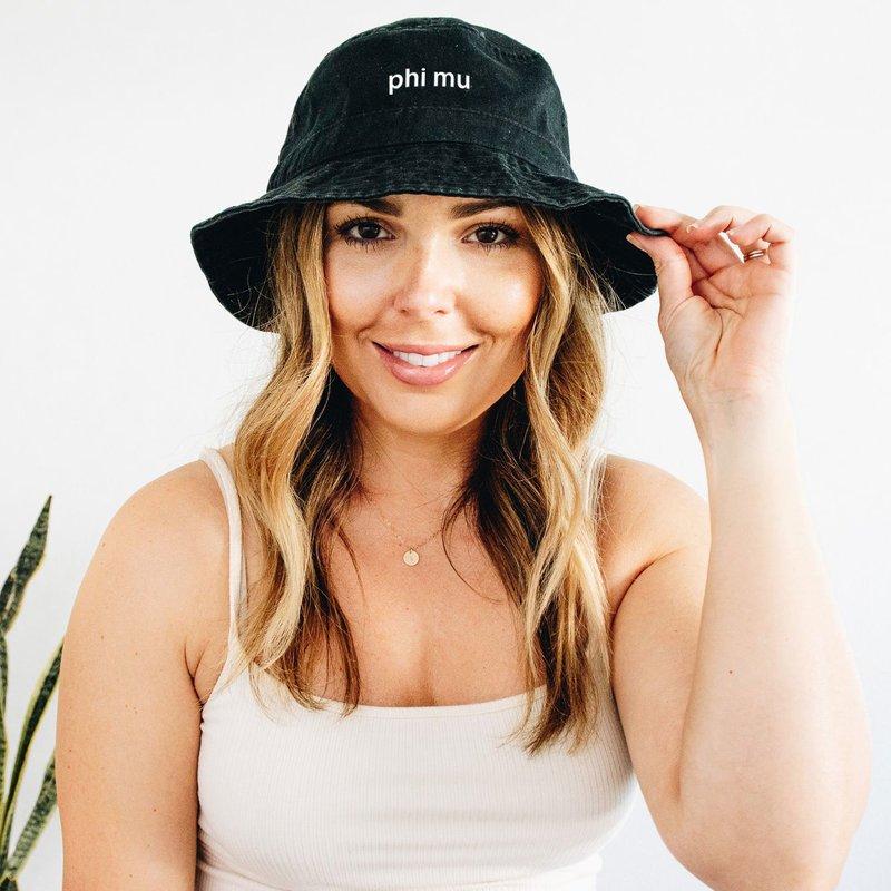Phi Mu Bucket Hat