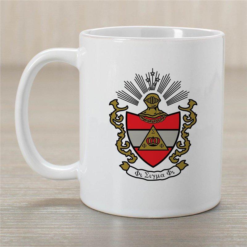 Phi Sigma Phi Greek Crest Coffee Mug