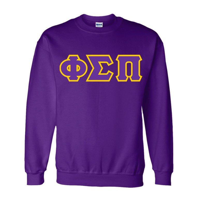 Phi Sigma Pi Lettered Crewneck Sweatshirt