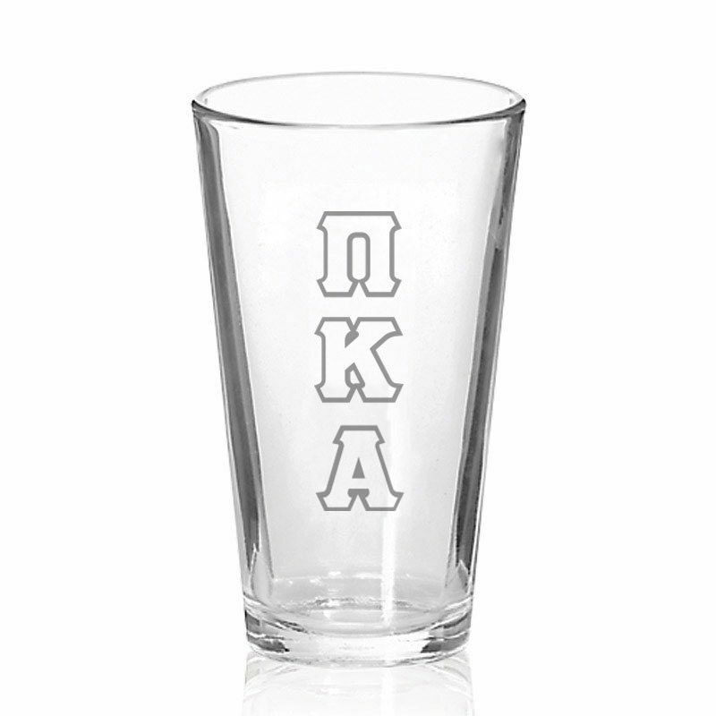 Pi Kappa Alpha Big Letter Mixing Glass