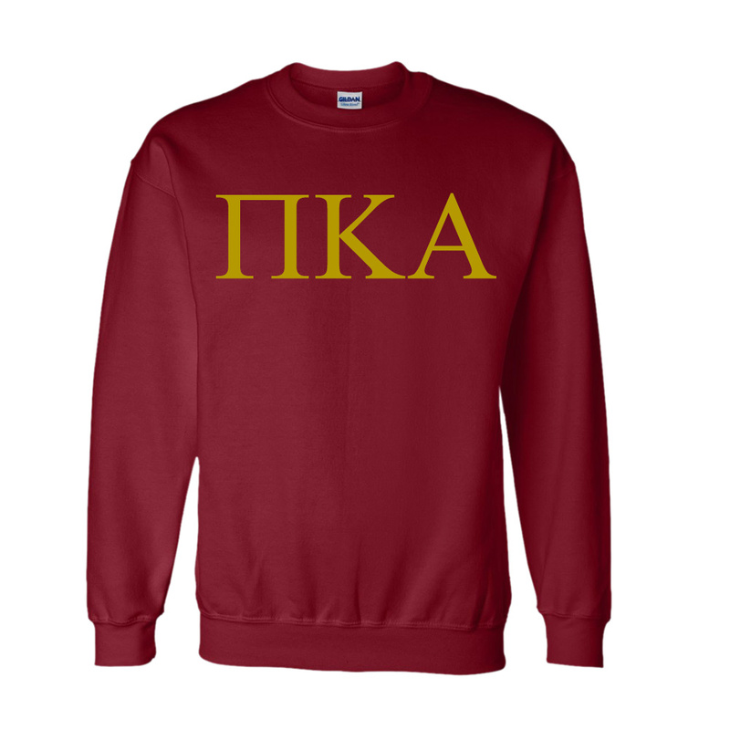 Pi Kappa Alpha Lettered World Famous $19.95 Greek Crewneck