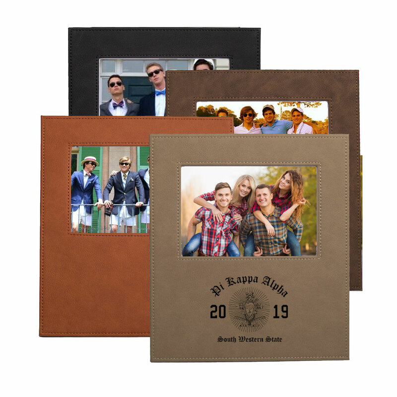 Pi Kappa Alpha Saddle Photo Frame
