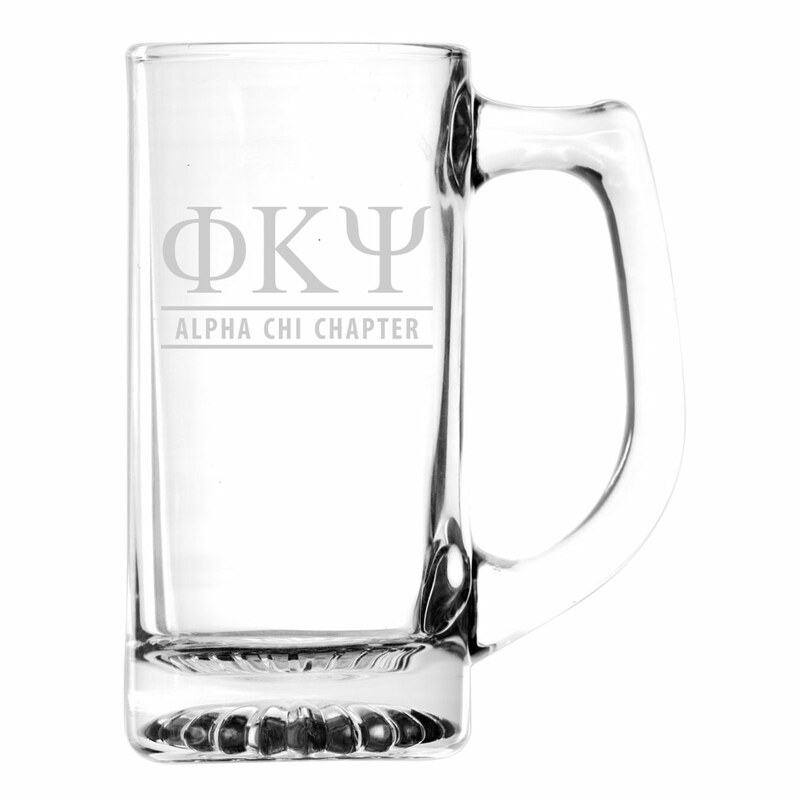Psi Upsilon Custom Engraved Mug