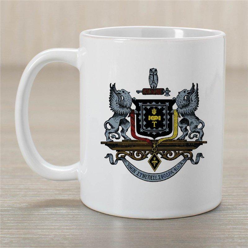 Psi Upsilon Greek Crest Coffee Mug
