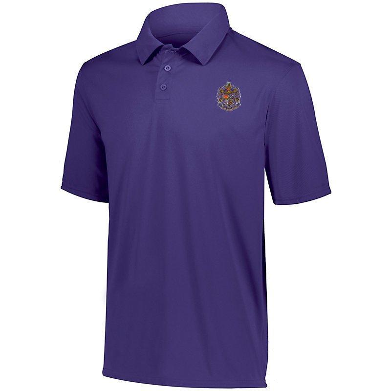 DISCOUNT-Sigma Alpha Epsilon- World Famous Greek Crest - Shield Vital Polo
