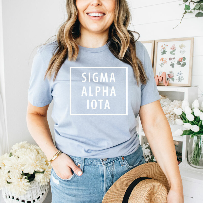 Sigma Alpha Iota Comfort Colors Box Tee
