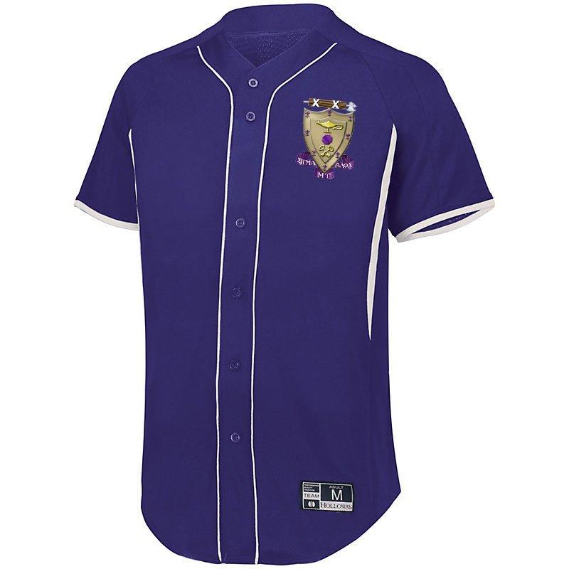 Sigma Alpha Mu Game 7 Full-Button Baseball Jersey
