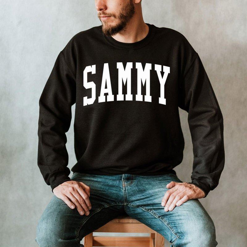 Sigma Alpha Mu Nickname Crewneck Sweatshirt