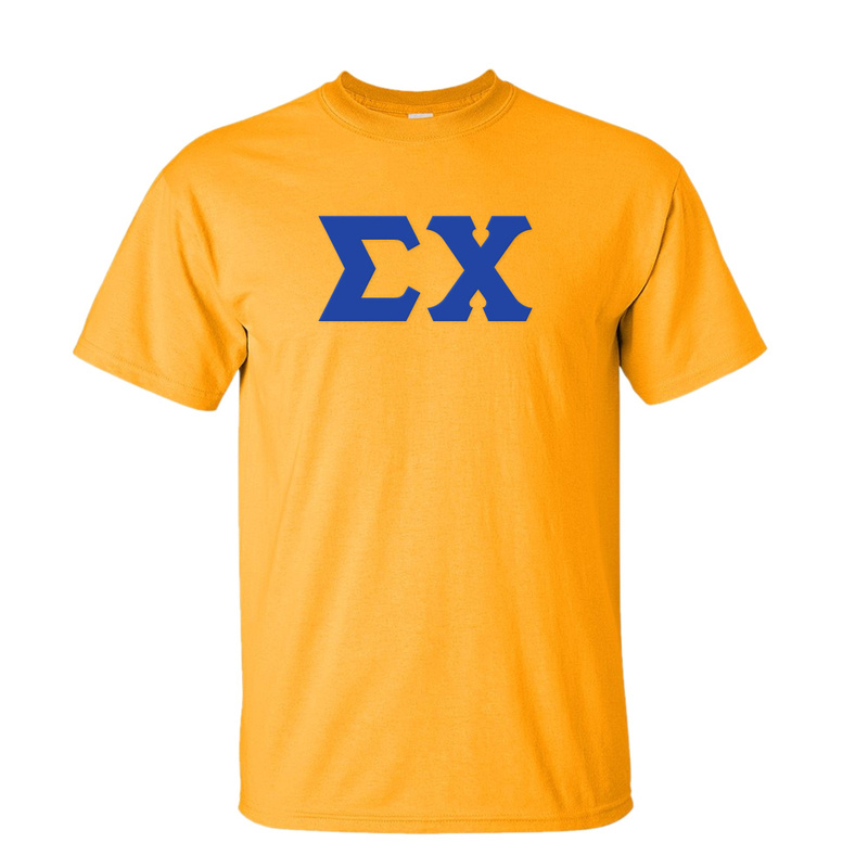 Sigma Chi Discount Twill Lettered Tee
