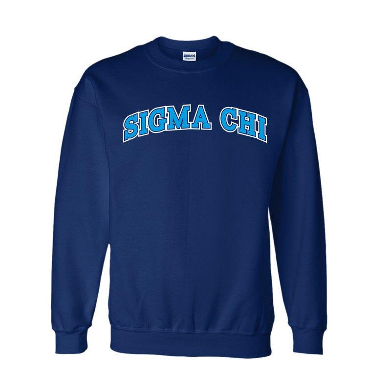 Sigma Chi Super Saver Letterman Crewneck