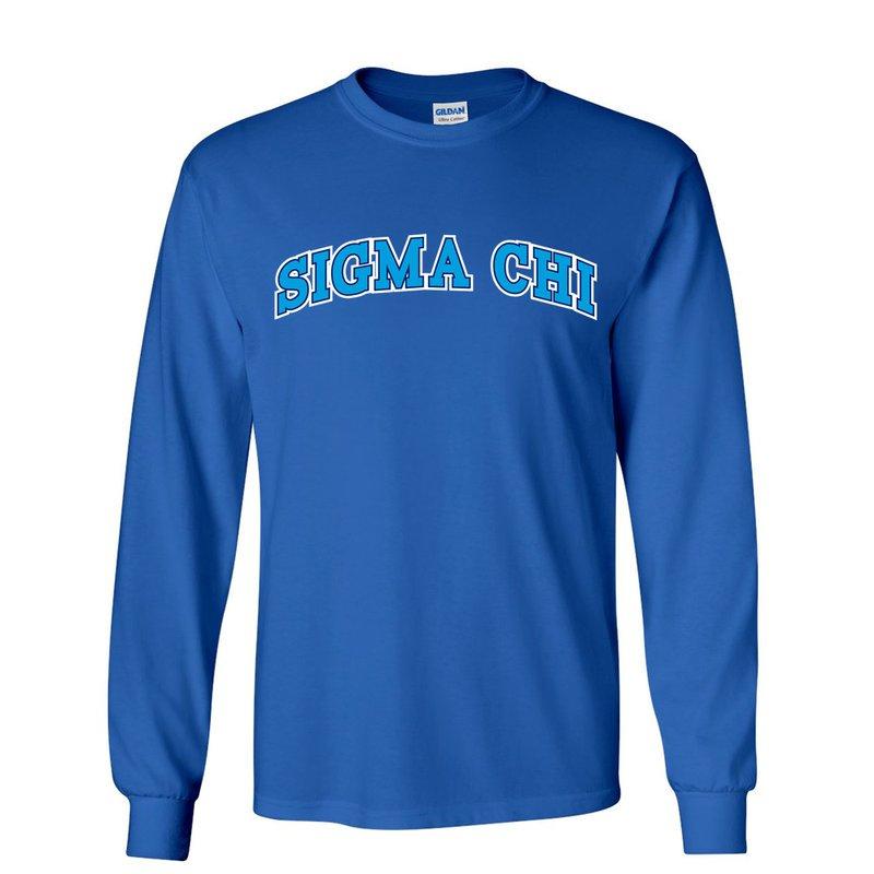 Sigma Chi Super Saver Letterman Longsleeve T-Shirt