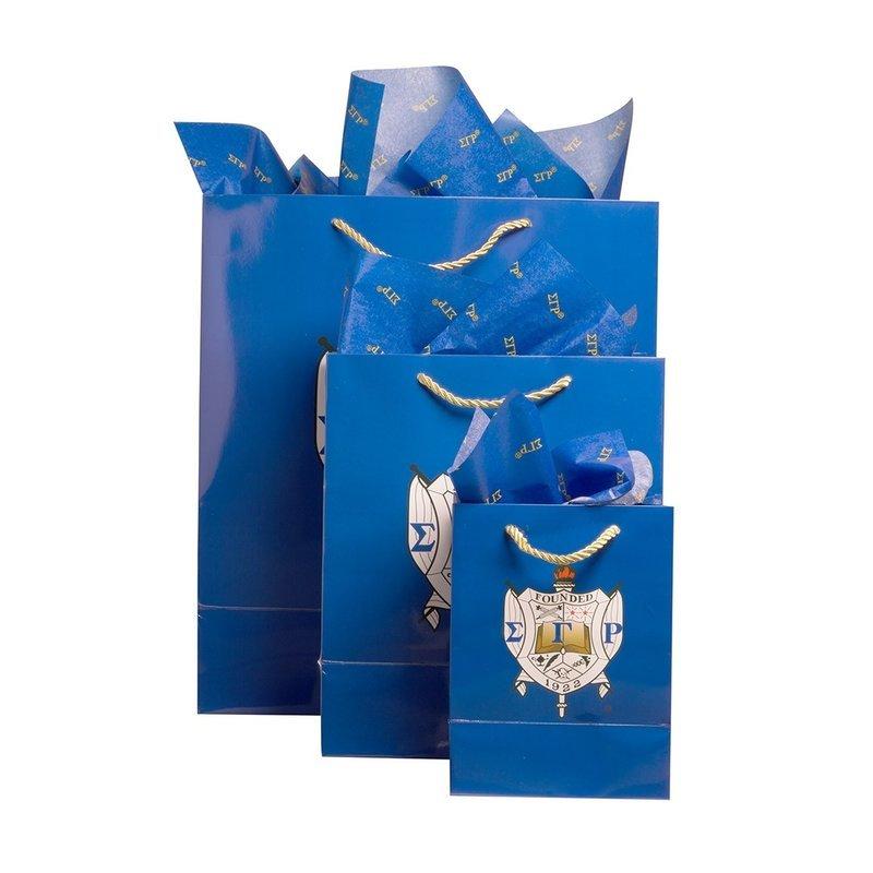 Sigma Gamma Rho Paper Gift Bag Set