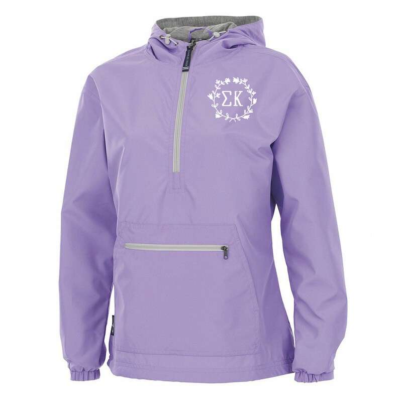 Sigma Kappa Chatham Anorak Solid Pullover