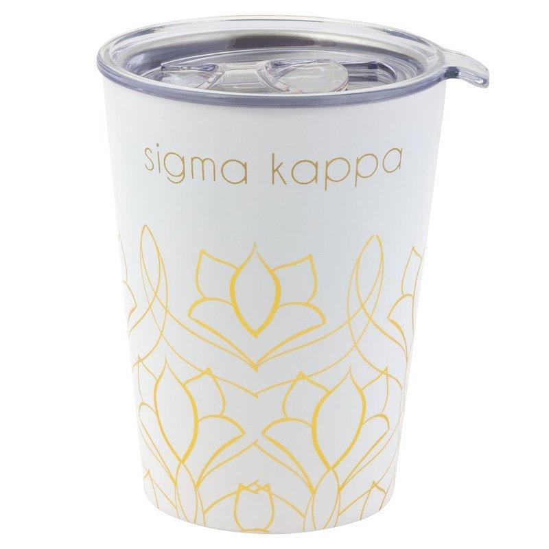 Sigma Kappa Short Coffee Tumblers