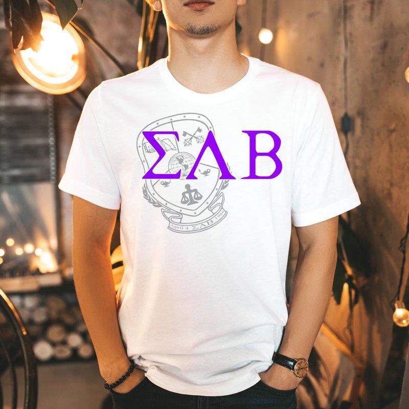Sigma Lambda Beta Greek Crest - Shield T-Shirt