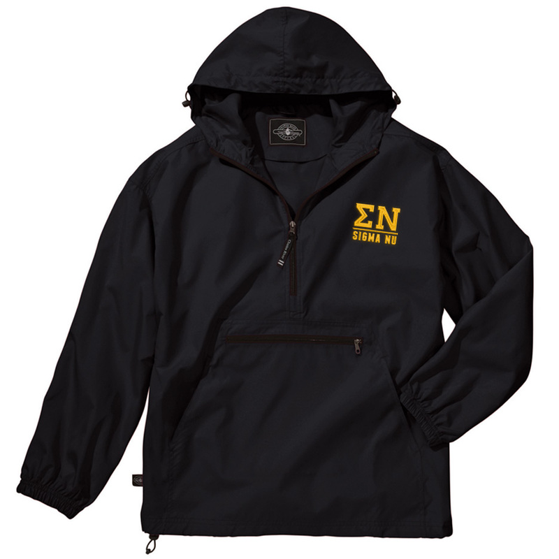 Sigma Nu Pack-N-Go Pullover