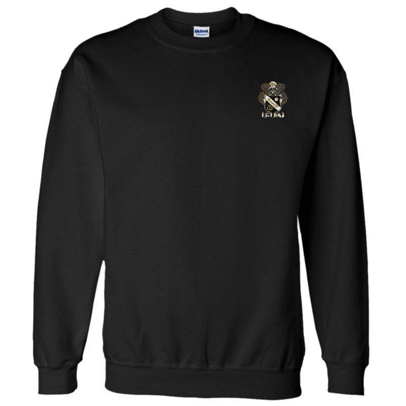 DISCOUNT-Sigma Nu World Famous Crest - Shield Crewneck Sweatshirt