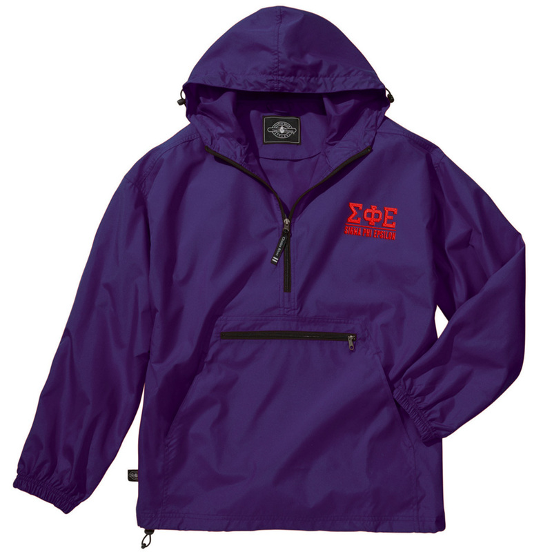 Sigma Phi Epsilon Pack-N-Go Pullover