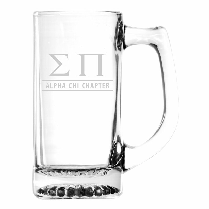 Sigma Pi Custom Engraved Mug