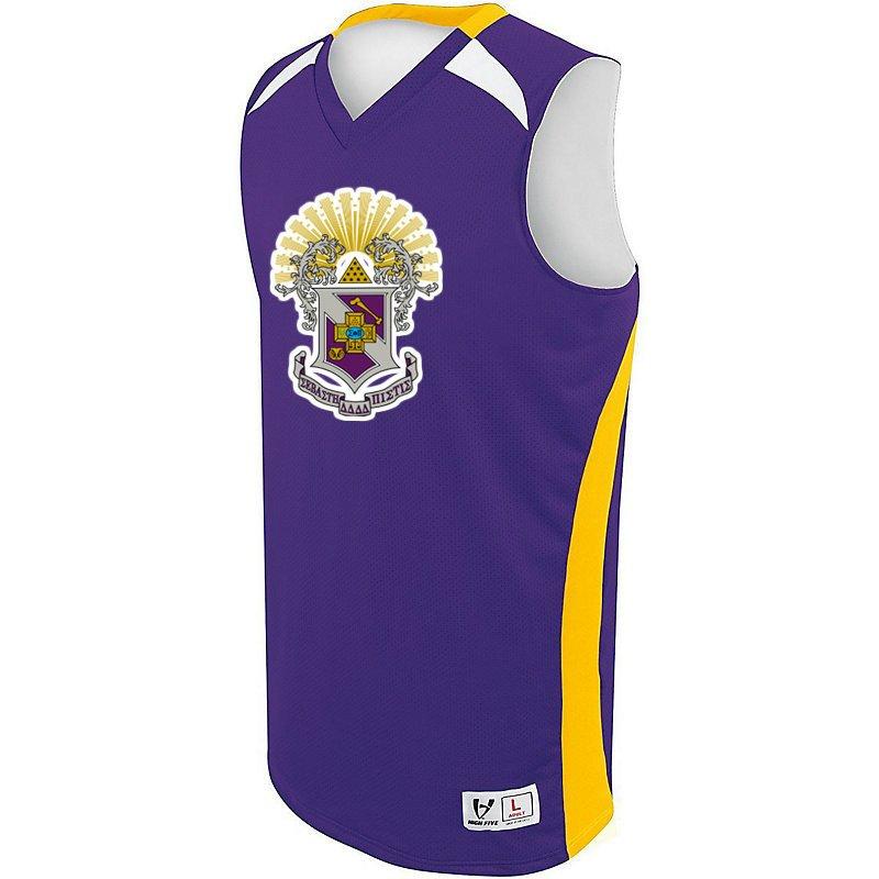 c9bde1ac36cf Sigma Pi High Five Campus Basketball Jersey SALE  45.00. - Greek Gear®