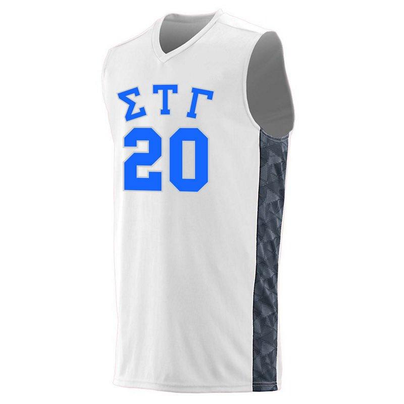 Sigma Tau Gamma Fast Break Game Basketball Jersey