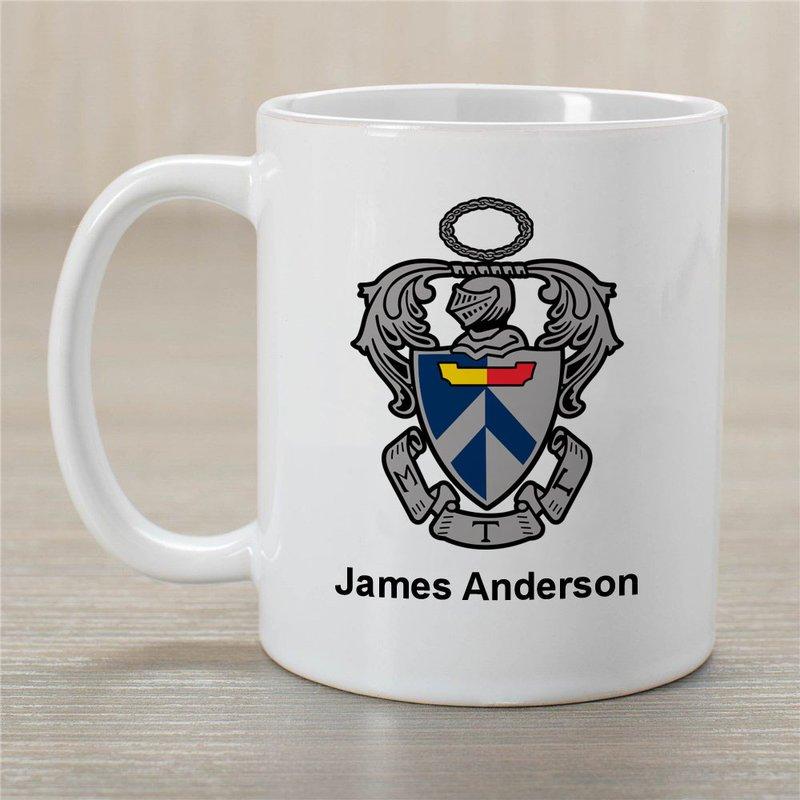 Sigma Tau Gamma Greek Crest Coffee Mug - Personalized!