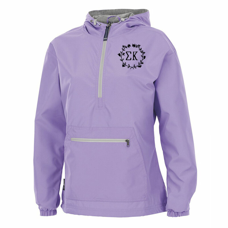 Sorority Chatham Anorak Solid Pullover