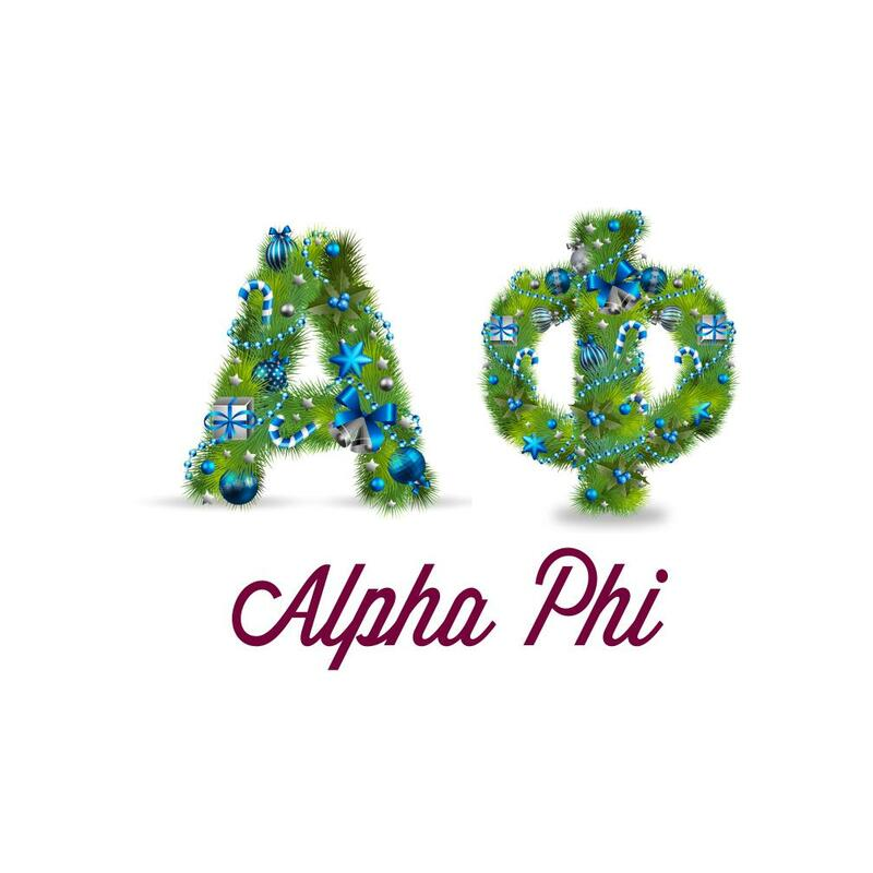Sorority Christmas Garland Tee