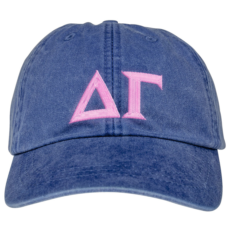 Sorority Lettered Premium Pastel Hat