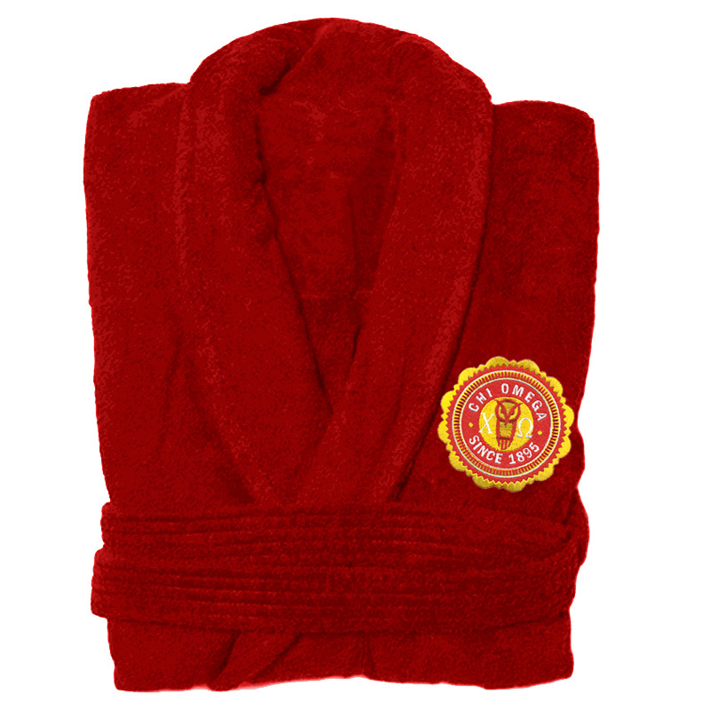 Sorority Patch Seal Bathrobe