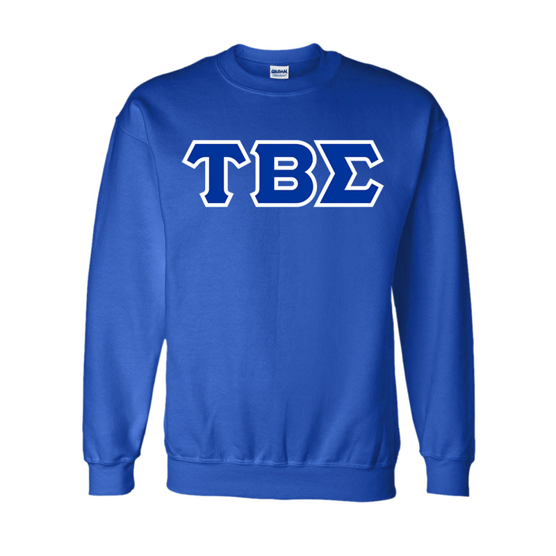 Tau Beta Sigma Lettered Crewneck Sweatshirt
