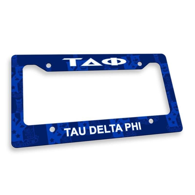 Tau Delta Phi License Plate Frame