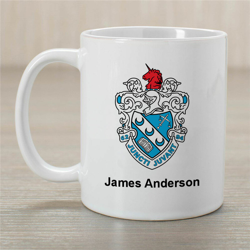 Theta Xi Greek Crest Coffee Mug - Personalized!