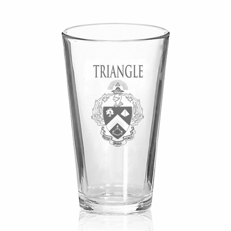 Triangle Fraternity Mixing Glass
