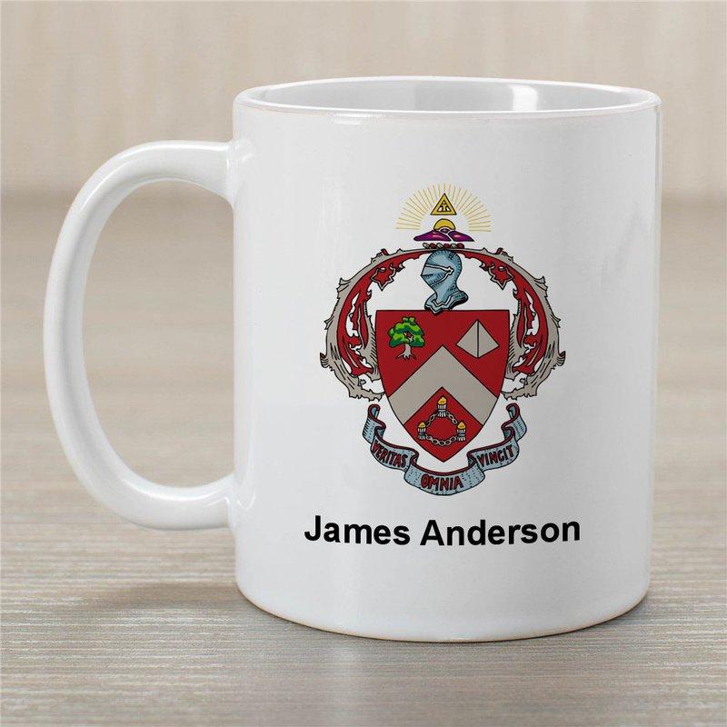 Triangle Greek Crest Coffee Mug - Personalized!
