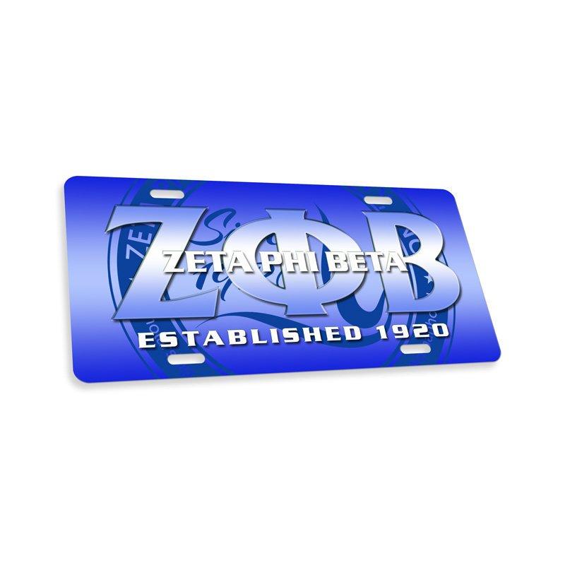Zeta Phi Beta License Cover