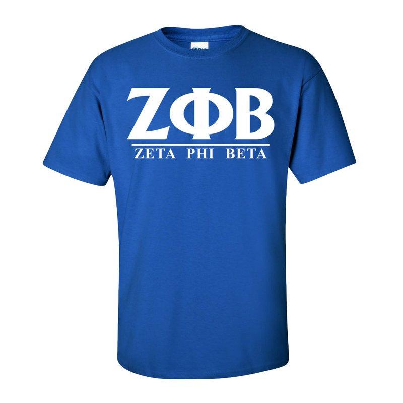 Zeta Phi Beta Message Shirt
