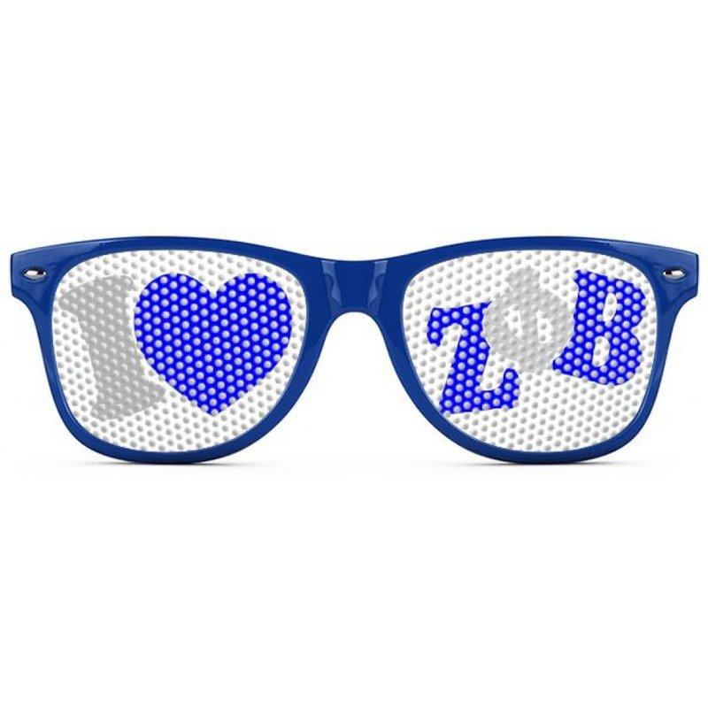 Zeta Phi Beta Wayfarer Style Lens Sunglasses