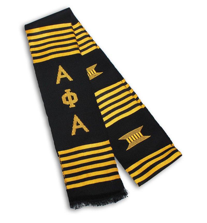 Alpha Phi Alpha Kente Stole - Graduation Stole