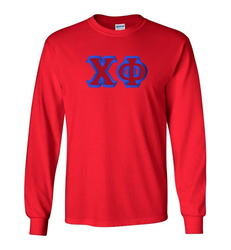$19.99 Chi Phi Custom Twill Long Sleeve T-Shirt