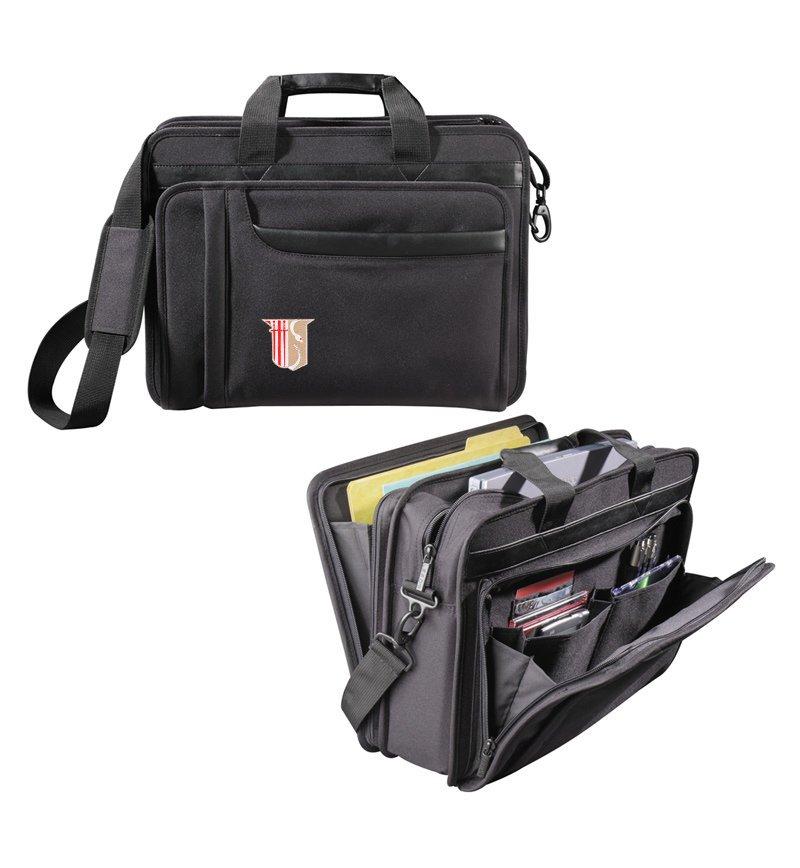 DISCOUNT-Theta Chi Crest - Shield Briefcase Attache