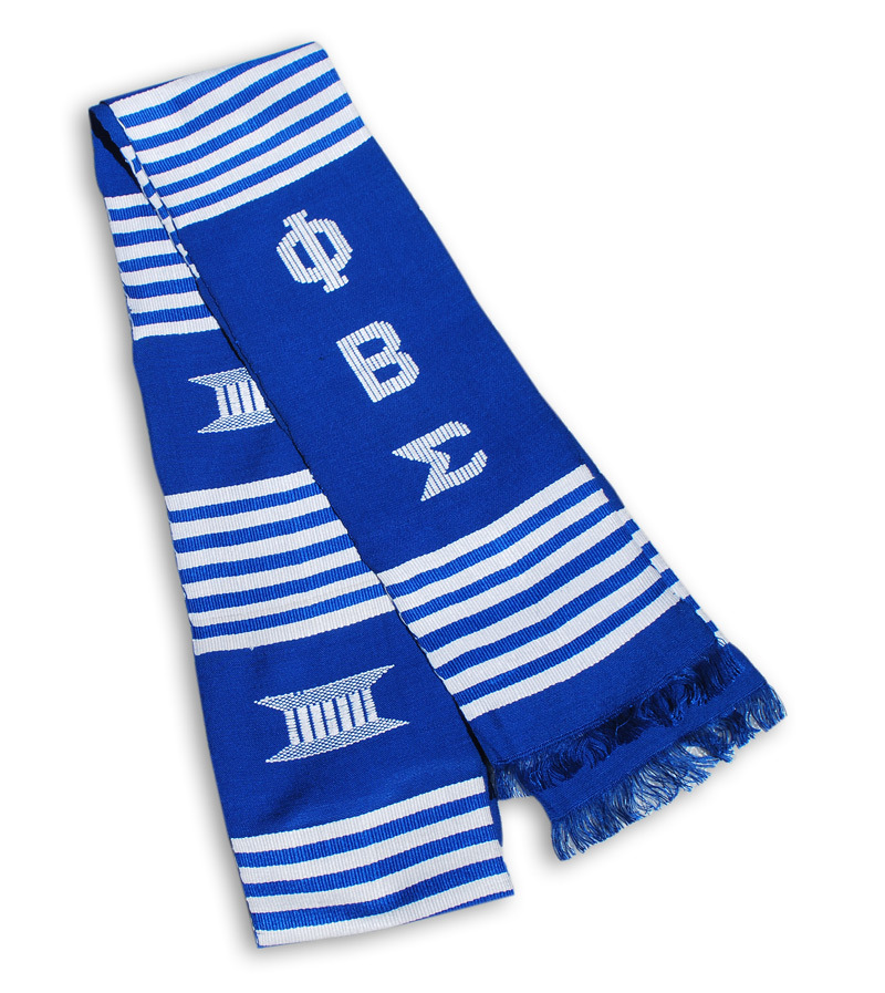 Phi Beta Sigma Kente Stole - Graduation Stole